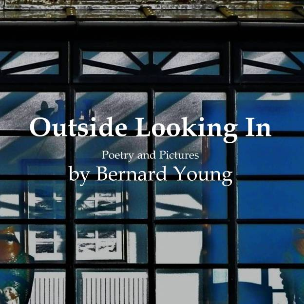 "Image of front cover of book ""Outside Looking In"" by Bernard Young"