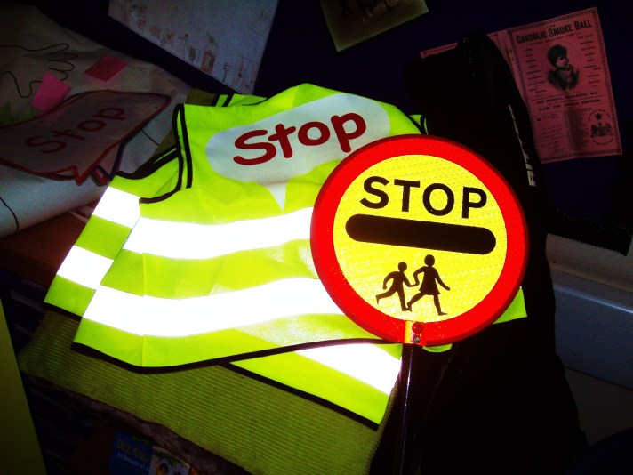 School crossing patrol safety equipment