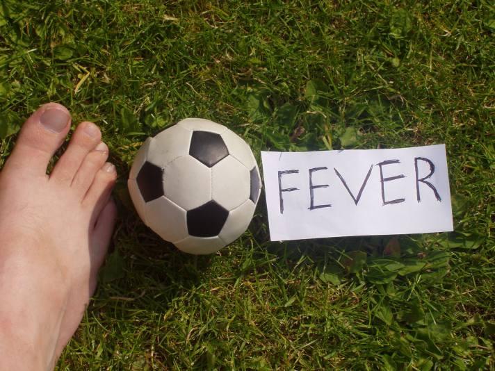 Football fever copyright Bernard Young