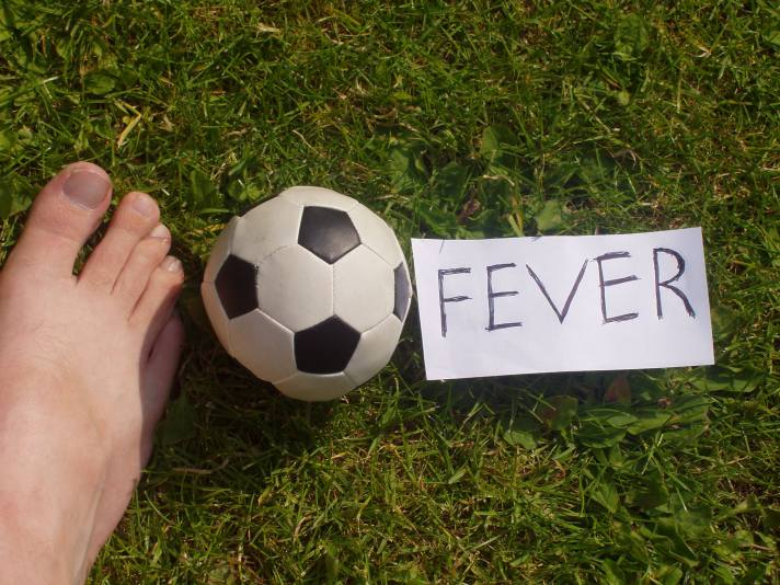 Football fever copyright Bernard Young