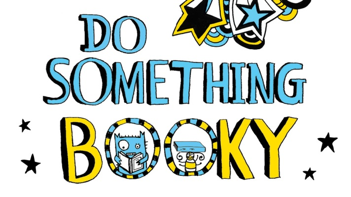 Word image saying 'so something booky'