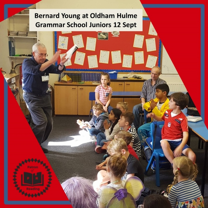 Bernard Young at Oldham Hulme Grammar School Juniors