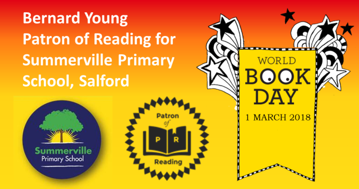 Bernard Young Patron of Reading for Summerville Primary School Salford