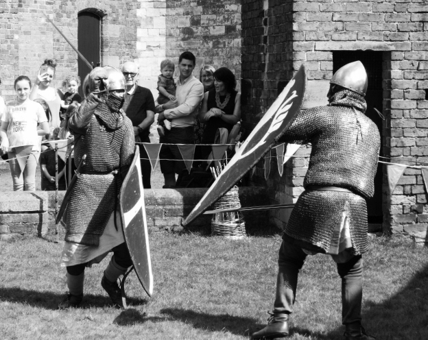 Photo copyright Bernard Young Two Knights fighting