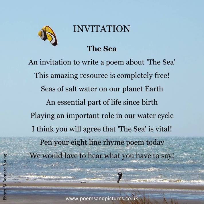 Invitation to enter poetry competition