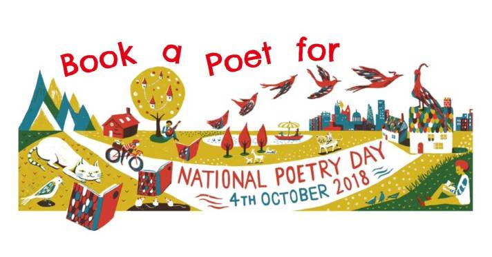 Book a Poet for National Poetry Day