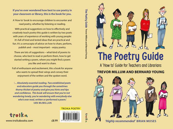 The Poetry Guide by Trevor Millum and Bernard Young Book Cover